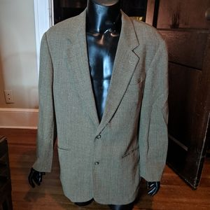 Hugo Boss knit virgin wool blazer made in Italy